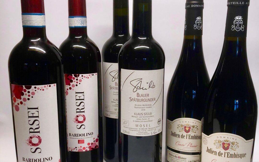 Kølige røde vine